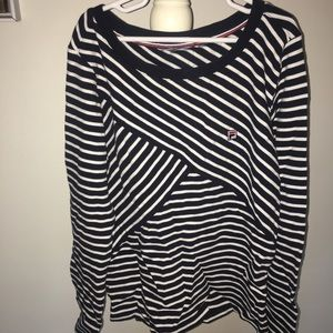 Fila Shirt with stripes.